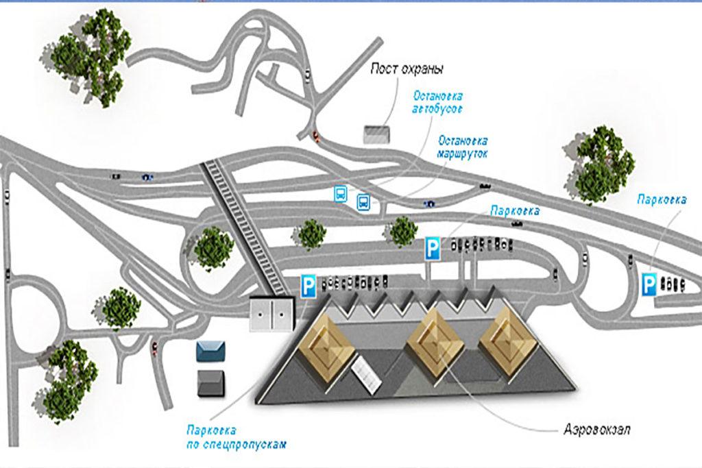 План аэропорта Сочи